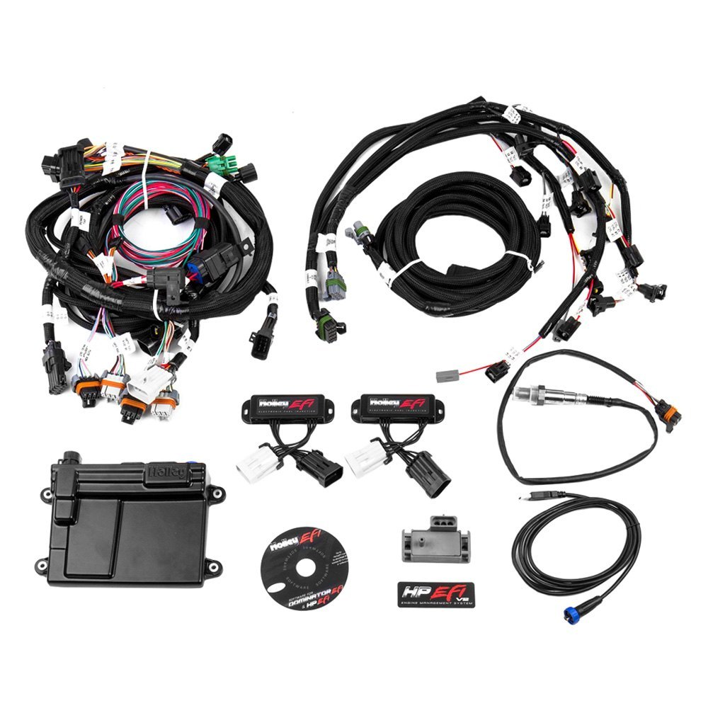 holley ford f 350 5 4l 1999 2002 hp efi ecu and harness kit. Cars Review. Best American Auto & Cars Review