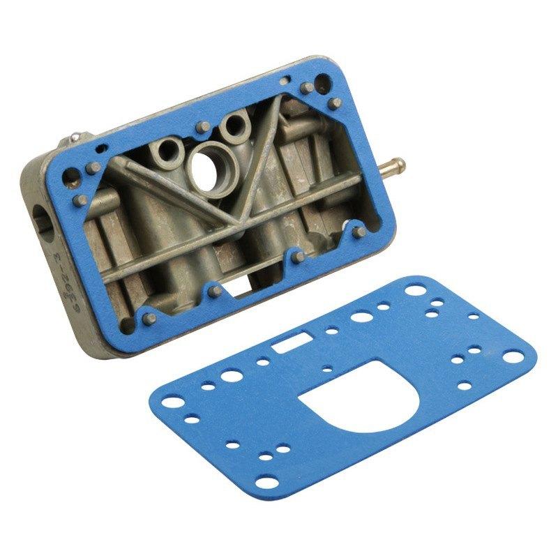 Cast Zinc Block : Holley zinc plated cast aluminum replacement