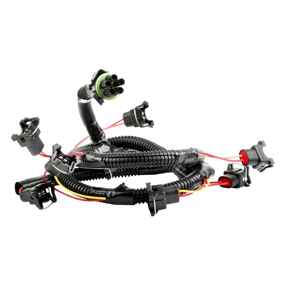 holley 174 534 131 replacement fuel injector wiring harness