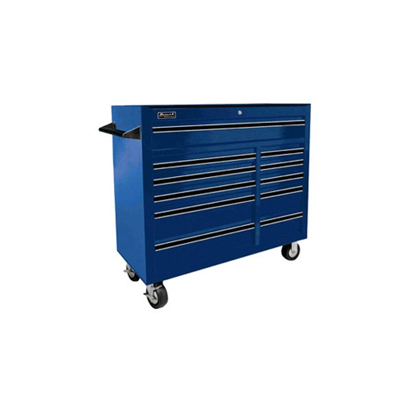 Homak bl04011410 41 se series 11 drawer blue roller for Sideboard roller