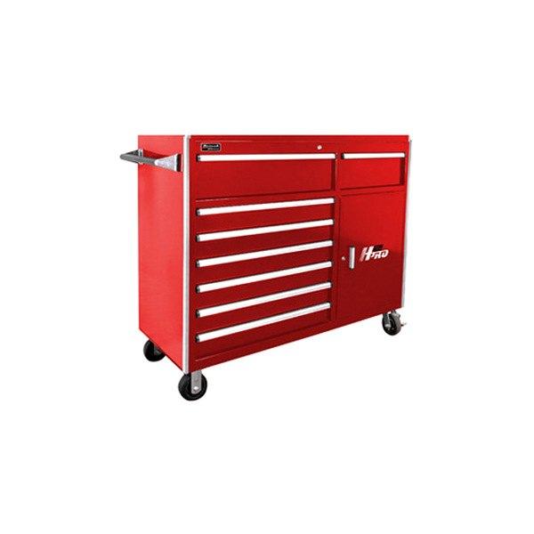 Homak rd04056082 56 h2pro series 8 drawer red roller for Sideboard roller