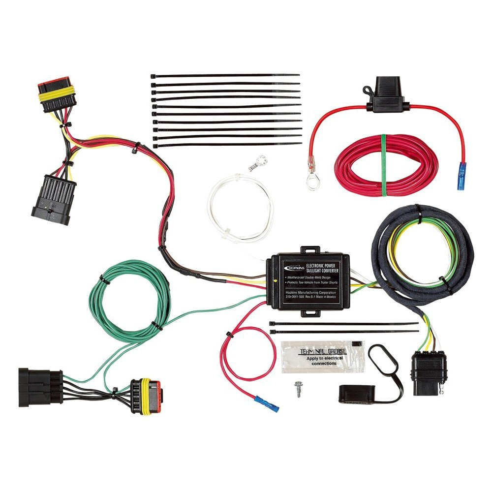 Fiat 500 Trailer Wiring Harness Best Secret Diagram Tail Light Converter Diagrams For Hopkins U00ae 2014 2016 Towing 4 Prong