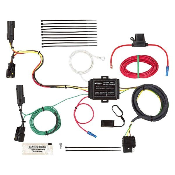 hopkins® - ford escape 2013-2016 towing wiring harness ford escape wiring harness diagram ford escape wire harness