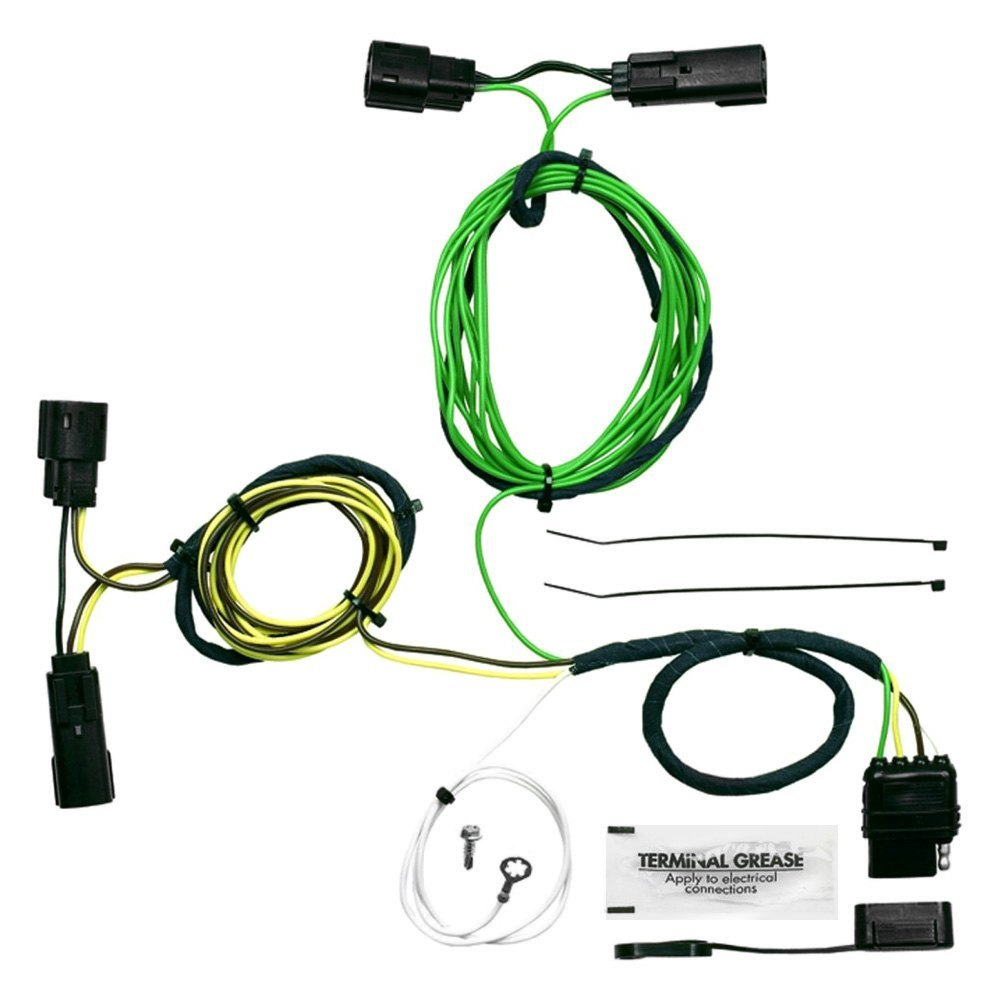 174 saturn outlook 2007 2010 towing wiring harness