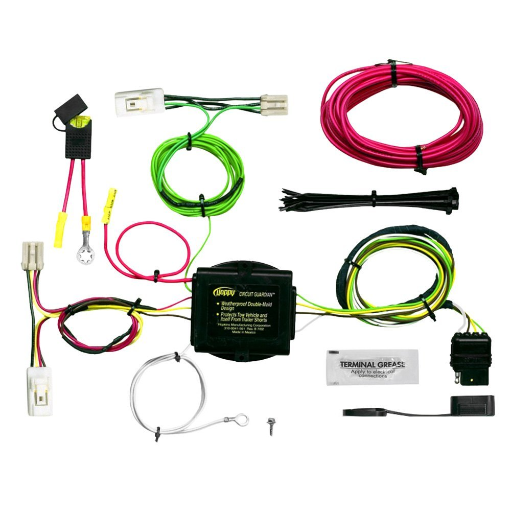 Hopkins Towing 11143625 Plug In Simple Wiring Harness 4 Flat With