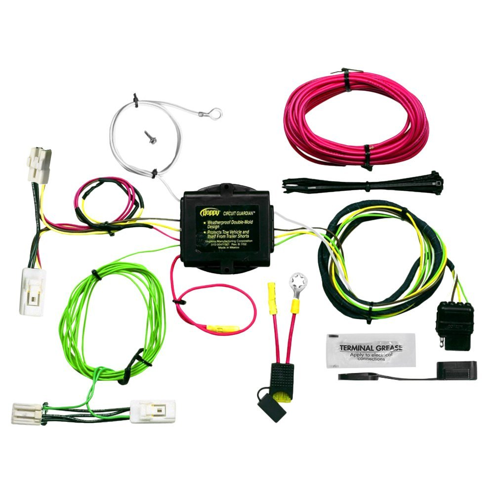 Hopkins® - Plug-In Simple!® Towing Wiring Harness with Short-Proof