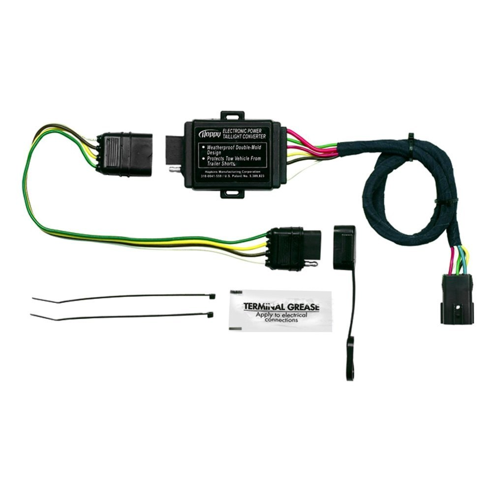 hopkins towing� 11143875 plug in simple!� towing wiring harness Radio Wiring Harness Diagram hopkins� plug in simple!� towing wiring harness with 4 flat