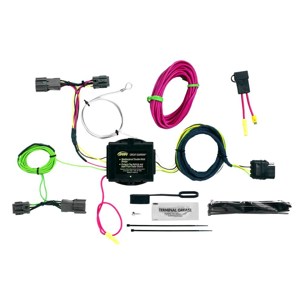 Hopkins U00ae   Lx 2011 Towing Wiring Harness