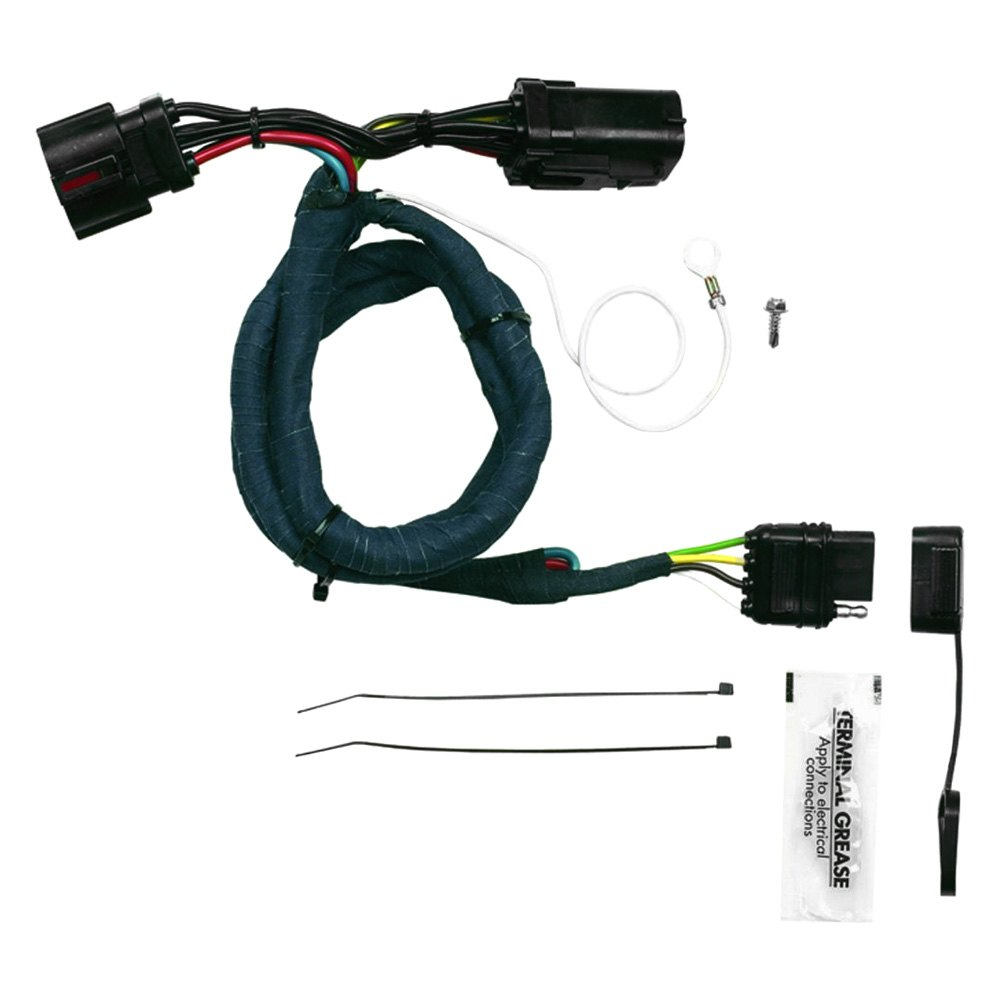 Hopkins Towing 40145 Plug In Simple Wiring Harness With Automotive Specialist 4 Flat