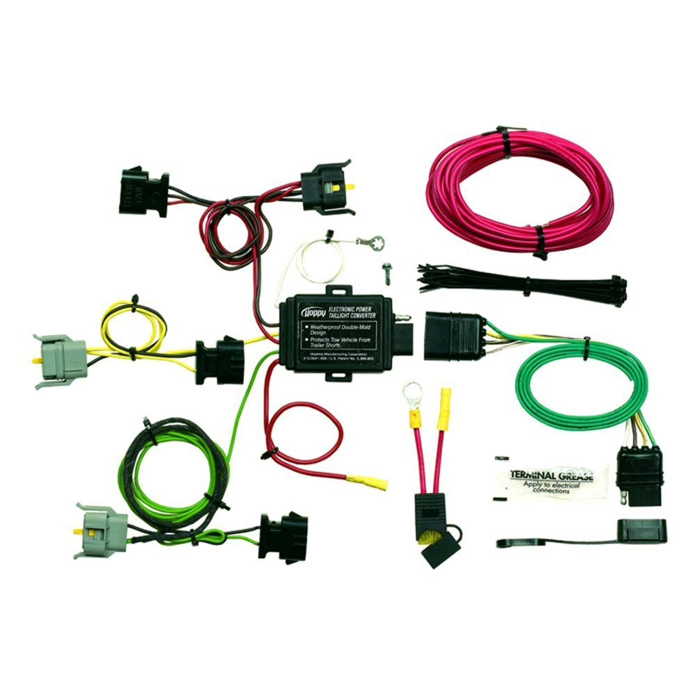 semi trailer wire harness kit hopkins towing   40315 plug in simple    towing wiring  hopkins towing   40315 plug in simple    towing wiring