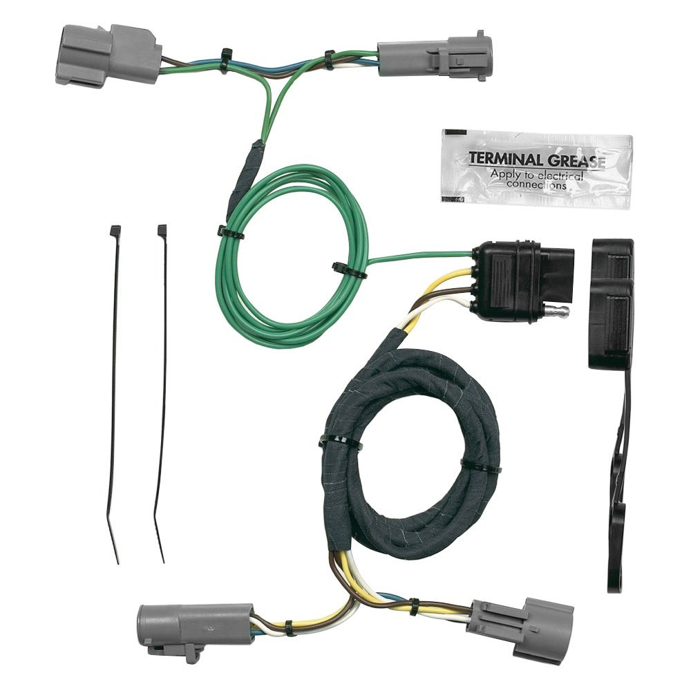 Hopkins Towing 40435 Plug In Simple Wiring Harness With 4 Flat