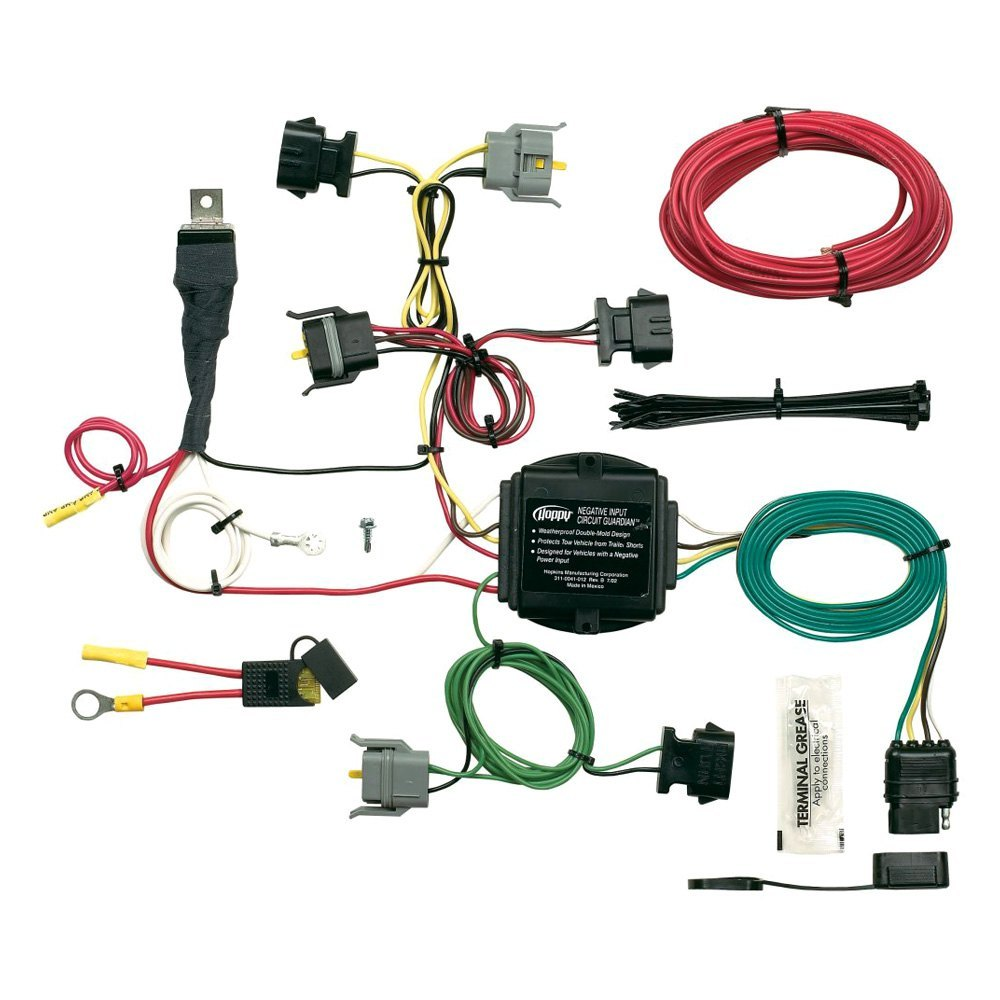 Hopkins Trailer Hitch Wiring Smart Diagrams Plug Diagram Towing U00ae 40615 Harness 7 Pin Kits