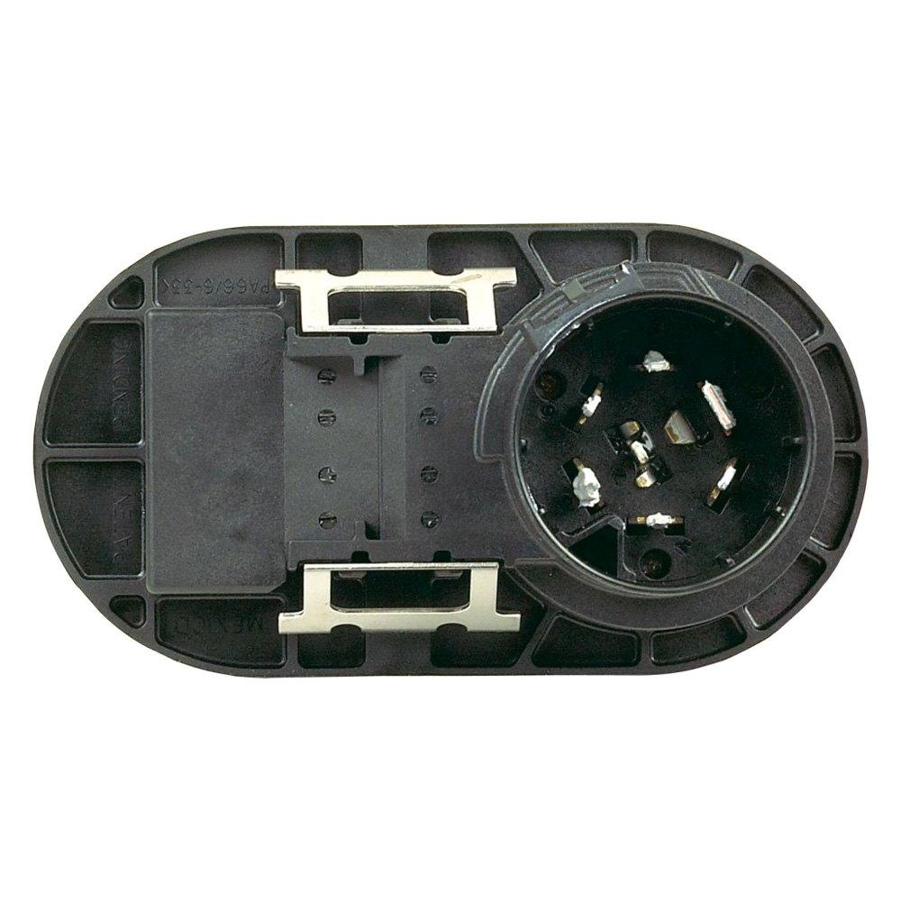 Towing Socket Wiring Manual Guide Diagram Caravan Uk Hopkins 40975 Multi Tow 7 Rv Blade And 4 Wire Flat