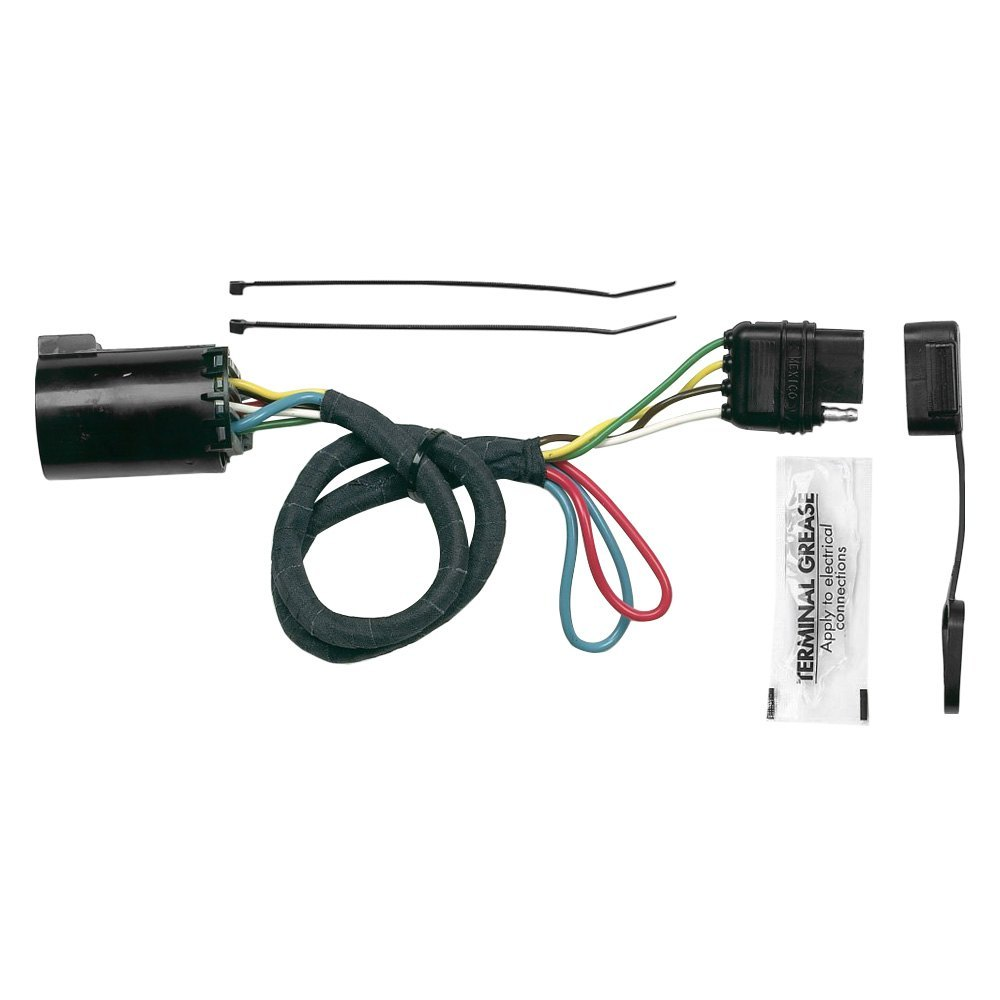 Hopkins Towing® 41155 - Plug-In Simple!® Towing Wiring Harness with 4-Flat  Connector (Vehicle Specific Kit)CARiD.com