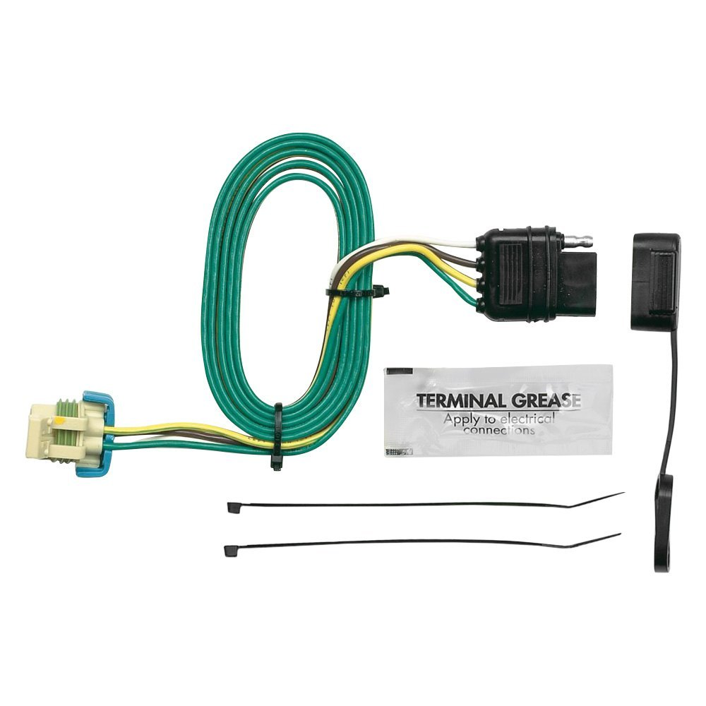Hopkins® - Plug-In Simple!® Towing Wiring Harness with 4-Flat