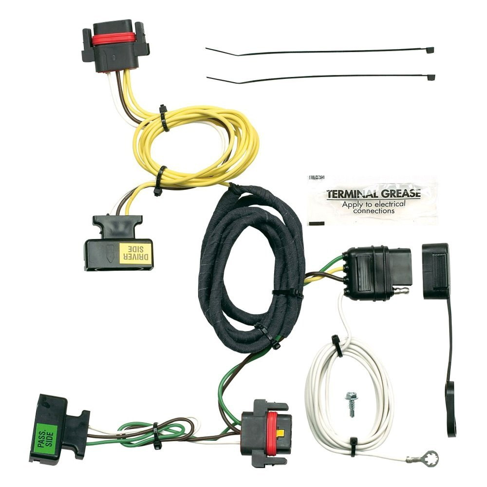 Towing Wiring Harness with 4-Flat