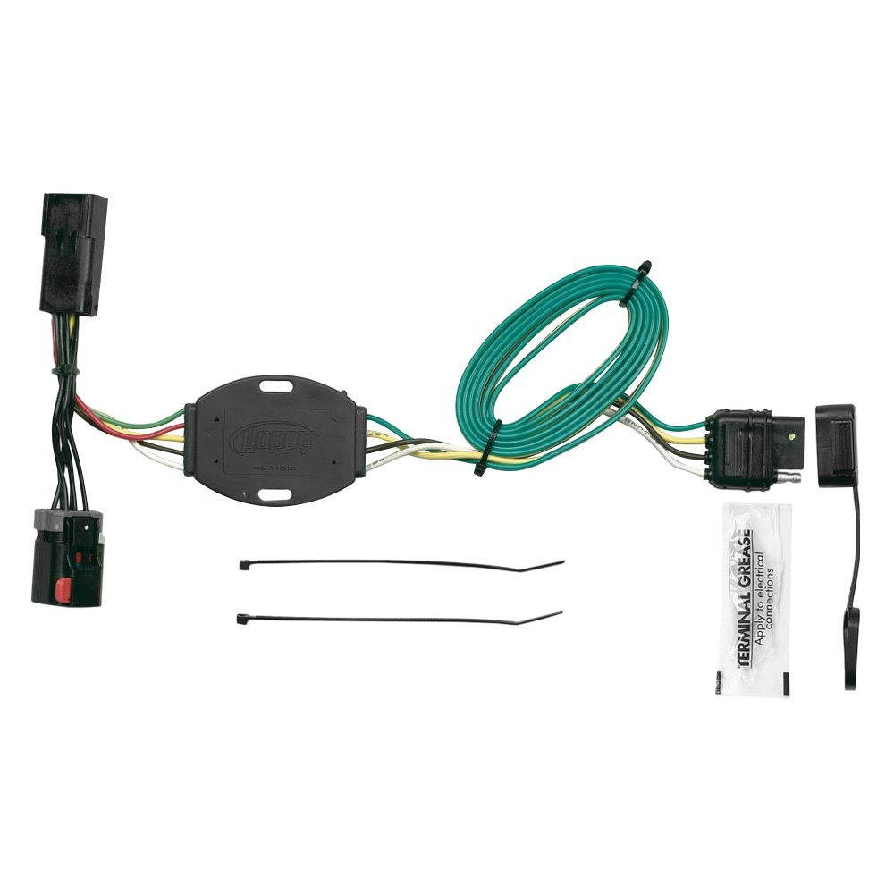 For Dodge Grand Caravan 01-03 Towing Wiring Harness Hopkins Plug-In Simple!