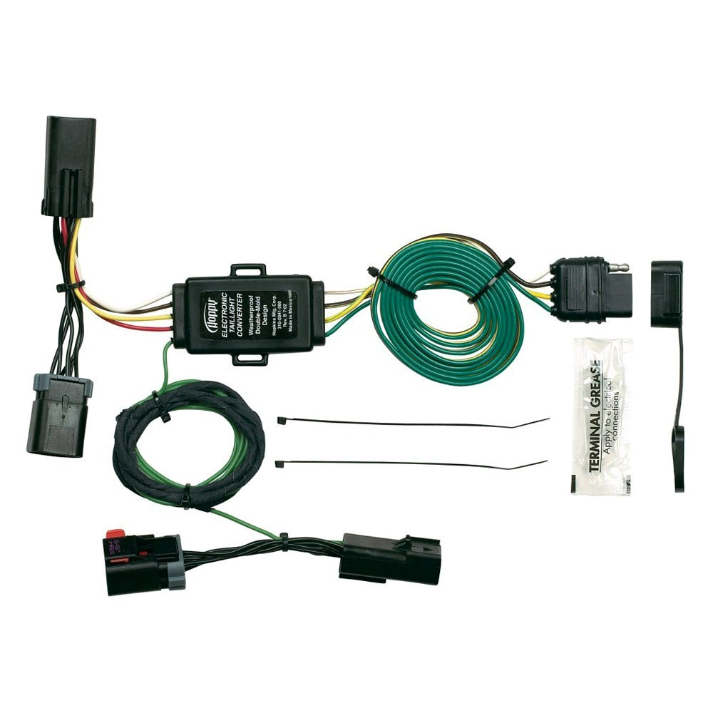 towing 174 42245 in simple 174 towing wiring harness with 4 flat connector