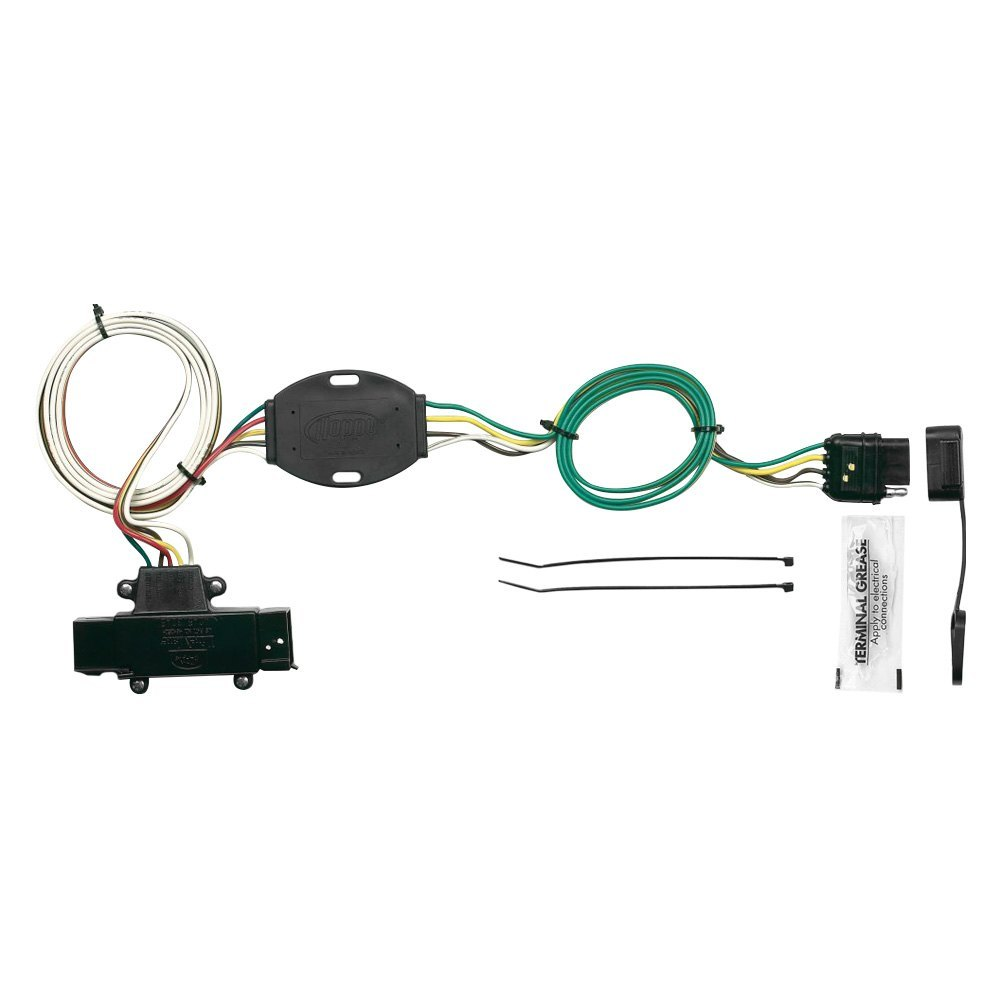 Hopkins Towing 42455 Plug In Simple Wiring Harness With 4 Flat