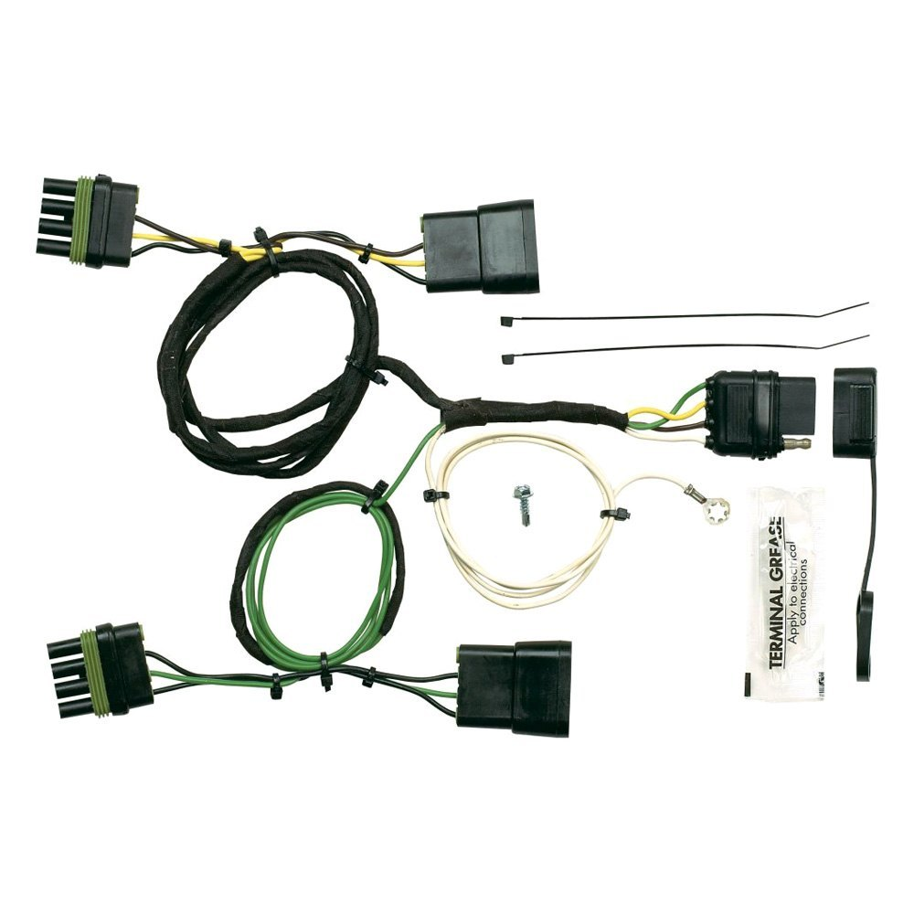 semi trailer wire harness kit for jeep wrangler 91 97 towing wiring    harness    hopkins plug  for jeep wrangler 91 97 towing wiring    harness    hopkins plug