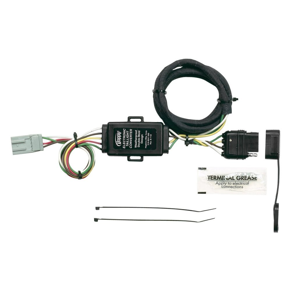 Hopkins Towing 43105 Plug In Simple Wiring Harness With Honda Element Trailer 4 Flat