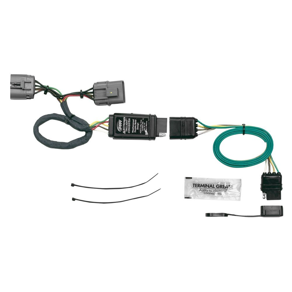 Hopkins Plug In Simple Towing Wiring Harness W 4 Flat