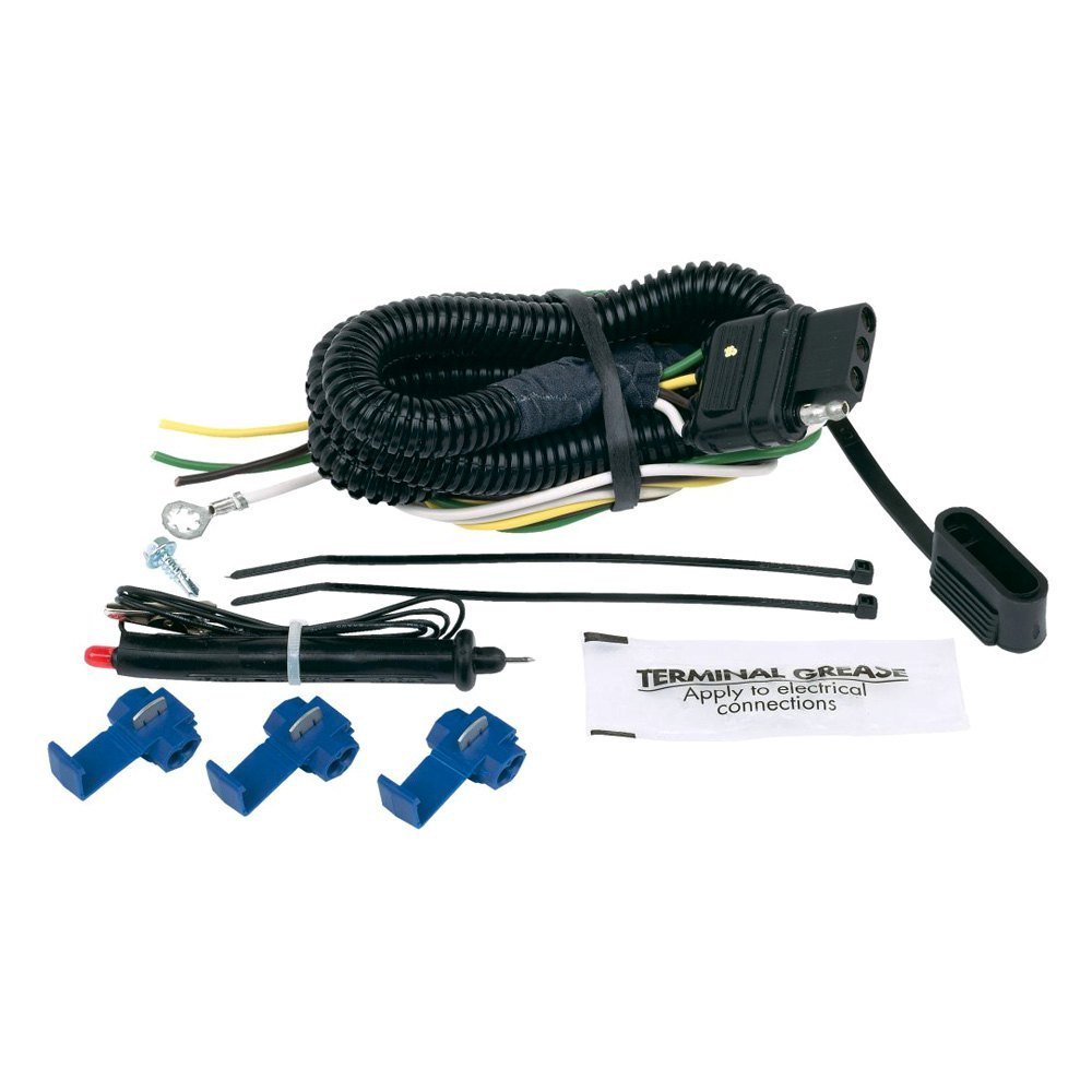 semi trailer wire harness kit hopkins towing   46105 4 flat universal connector    kit     hopkins towing   46105 4 flat universal connector    kit