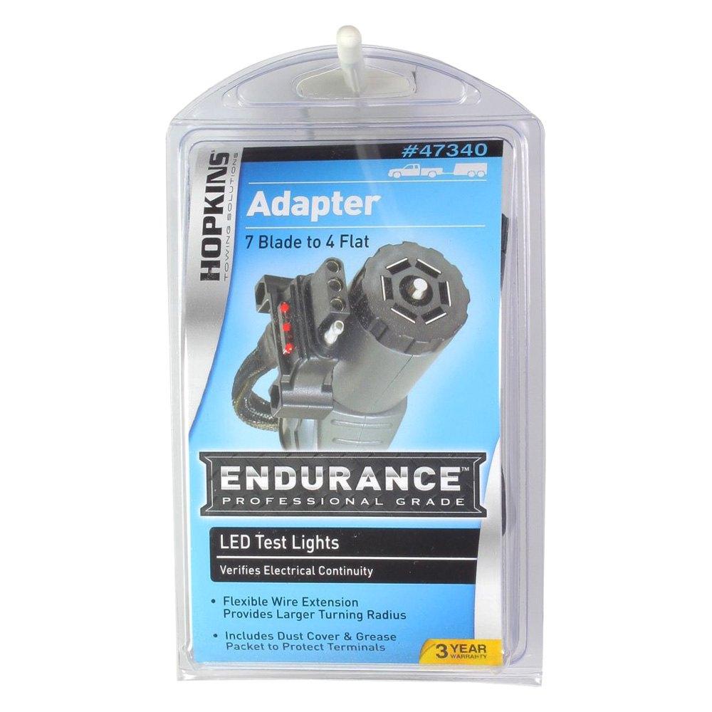 Hopkins Towing® 47340 - Endurance™ 7 RV Blade to 4-Wire Flat Flex ...
