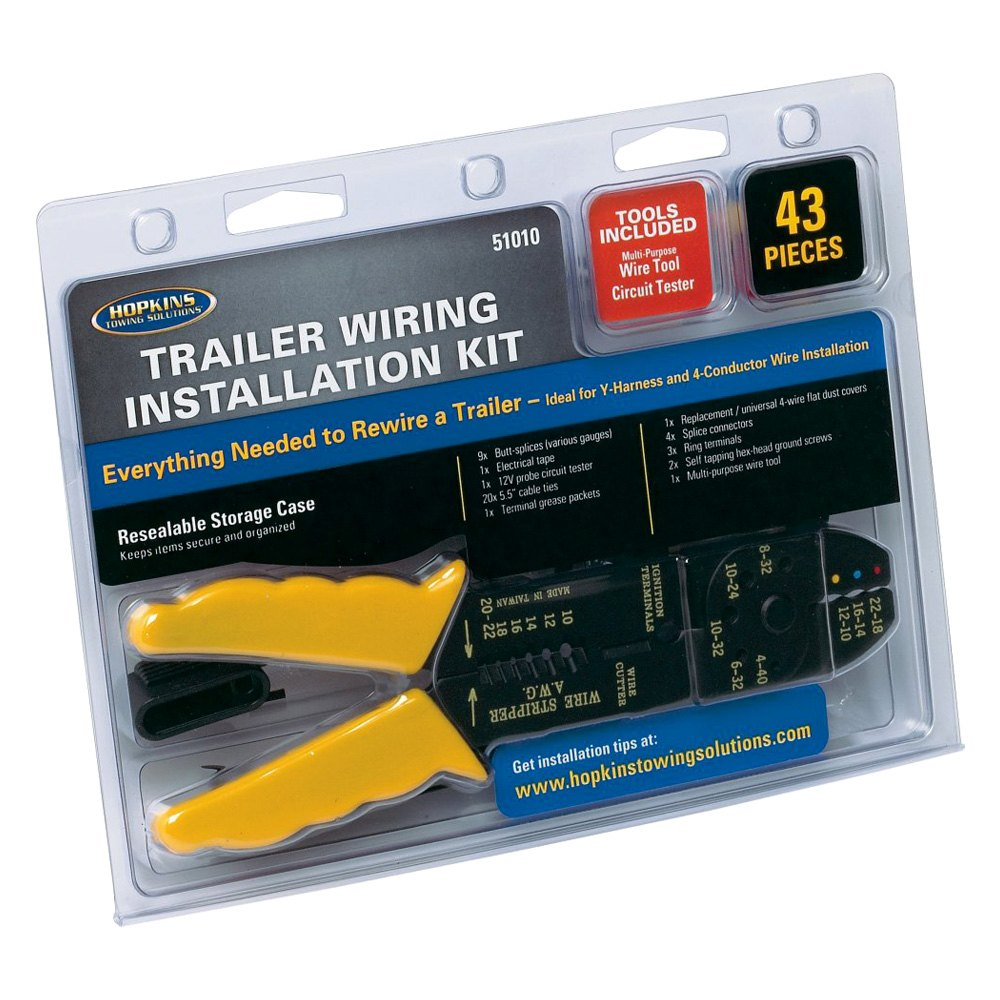 Hopkins Trailer Wiring Tester Solutions Circuit Towing 51010 Installation Kit