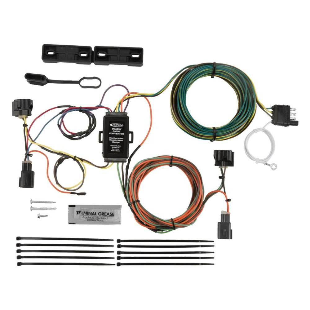 Jeep Liberty Trailer Wiring Kit 20022007 By Curt Mfg 55382