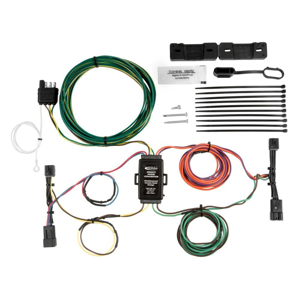 Hopkins Towingr 56206 Tail Light Wiring Kit For Towed Vehicles Honda S90 Haynes Electrical Installation Diagram At Manual Kud Towing U00ae 56303