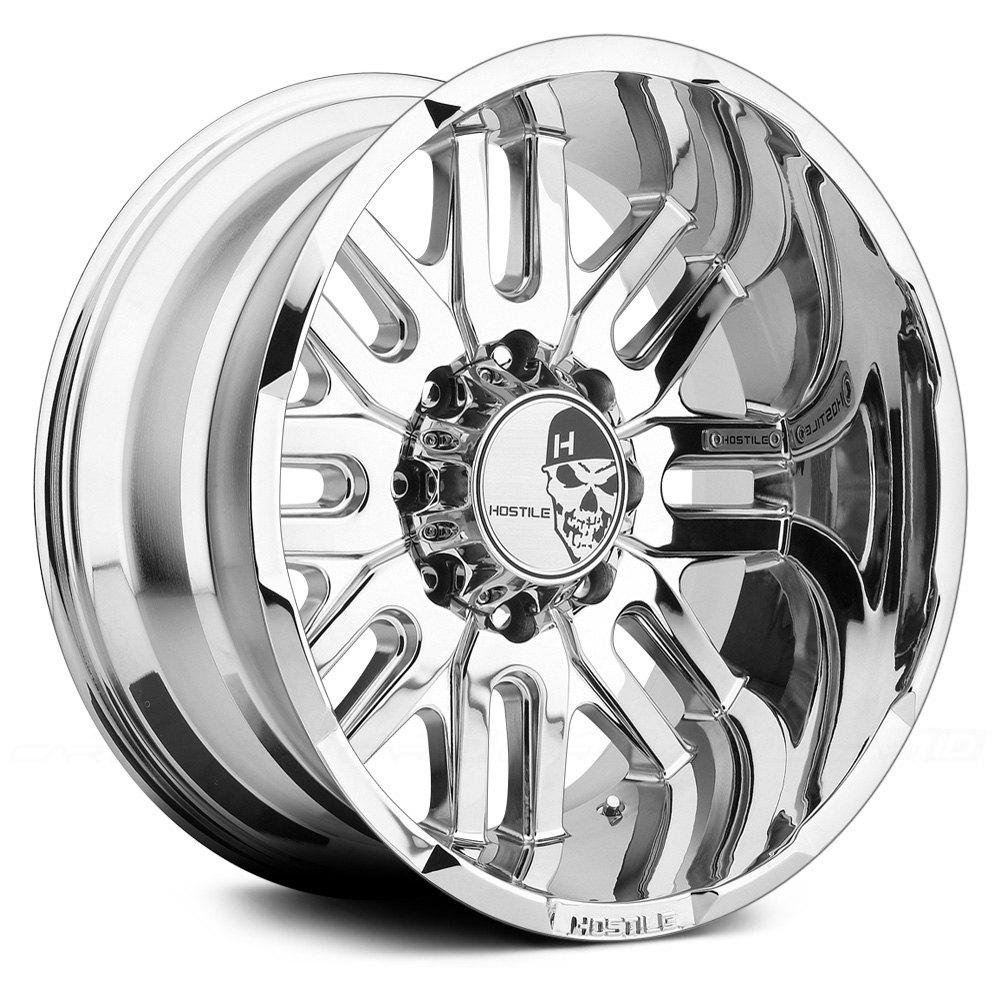 HOSTILE® ZOMBIE Wheels - Chrome Rims