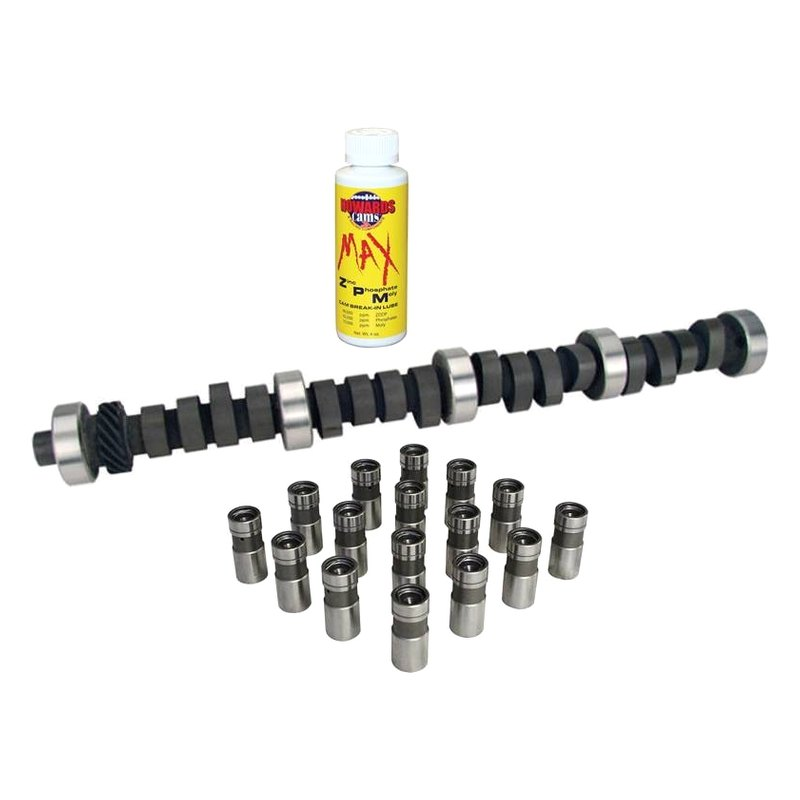 Howards Cams® MC210041-12DL - Max Certified™ Hydraulic Flat Tappet Camshaft  & Lifter Kit with Direct Lube (Ford Small Block V8)