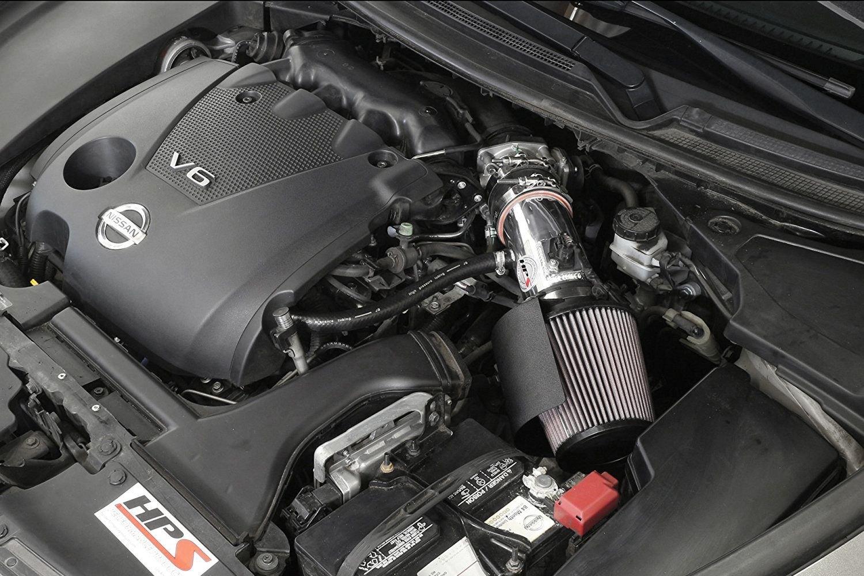 Nissan Maxima 2017 Interior >> HPS® - Nissan Maxima 2017 Aluminum Short Ram Air Intake ...