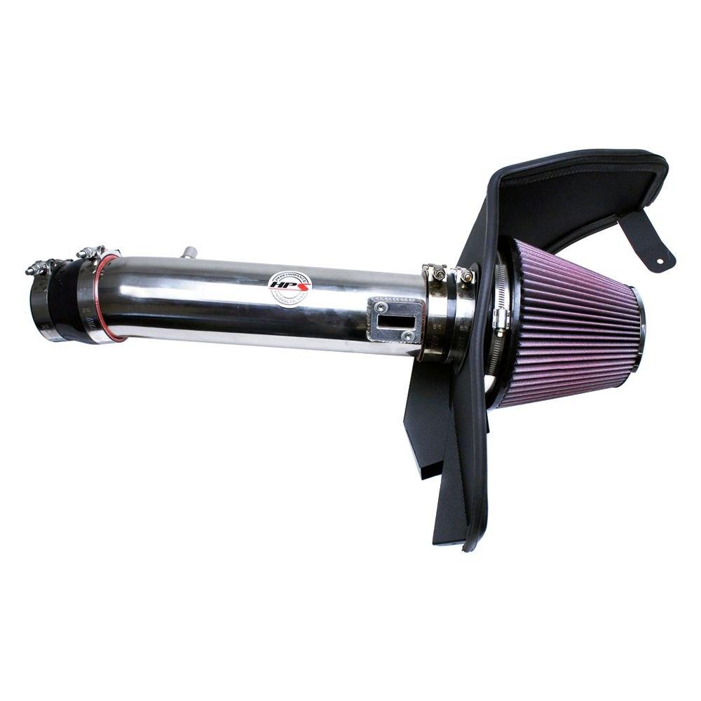 Ram Air Intake : Hps ford mustang l aluminum short ram air