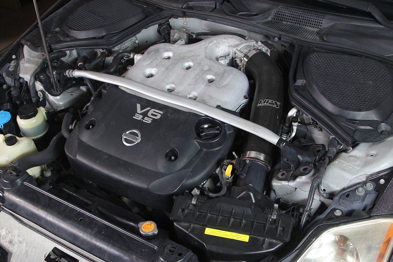 ... Air Intake Hose on CarHPS® ... & HPS® - Nissan 350Z 2003 Silicone Air Intake Hose