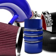 HPS Silicone Hoses® - Blue Short Ram Air Intake