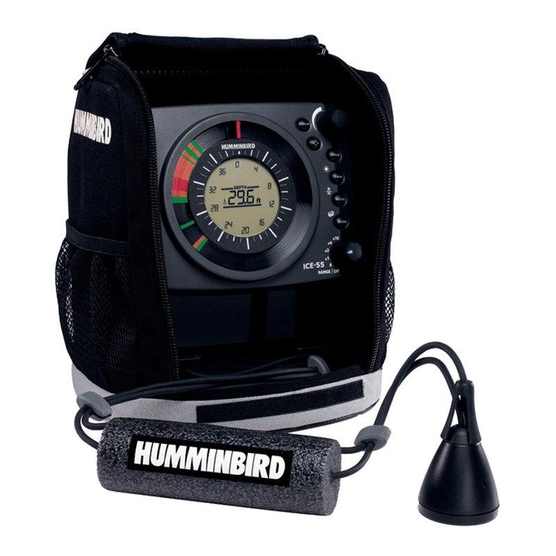 Humminbird 407040 1 ice 55 fishing flasher with 6 for Ice fishing flasher