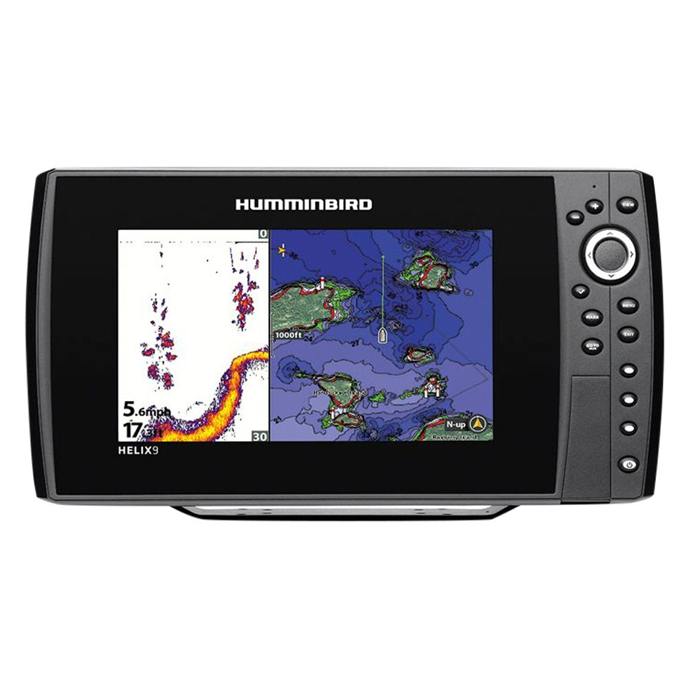 Humminbird 409920 1 helix 9 series sonar gps fishfinder for Humminbird fish finder