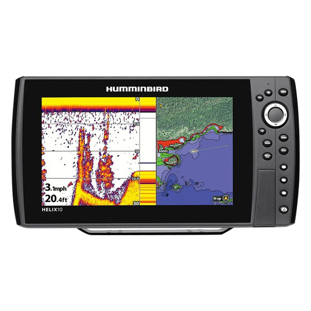 Humminbird helix 10 series fishfinder chartplotter for Humminbird fish finder