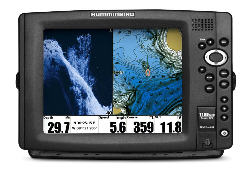 Humminbird fish finders gps electronics for Side imaging fish finder