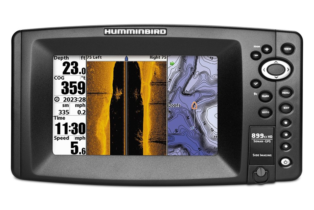 Humminbird piranhamax 15 seeing is believing and for Castable fish finder