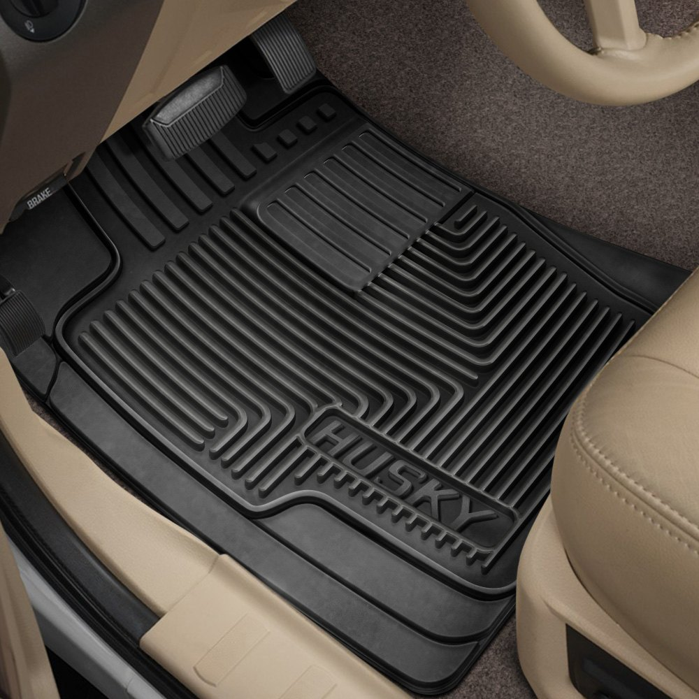 husky liners heavy duty 1st row black floor mats