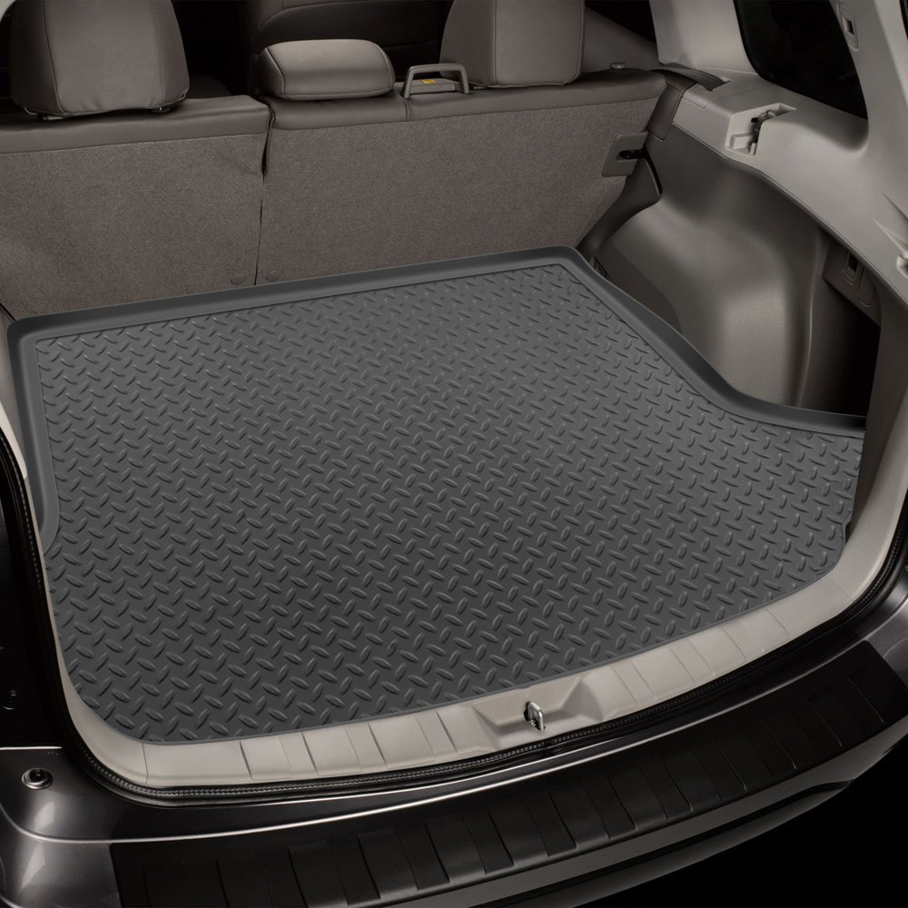 Husky 174 40272 Classic Style Gray Cargo Liner Behind 3rd