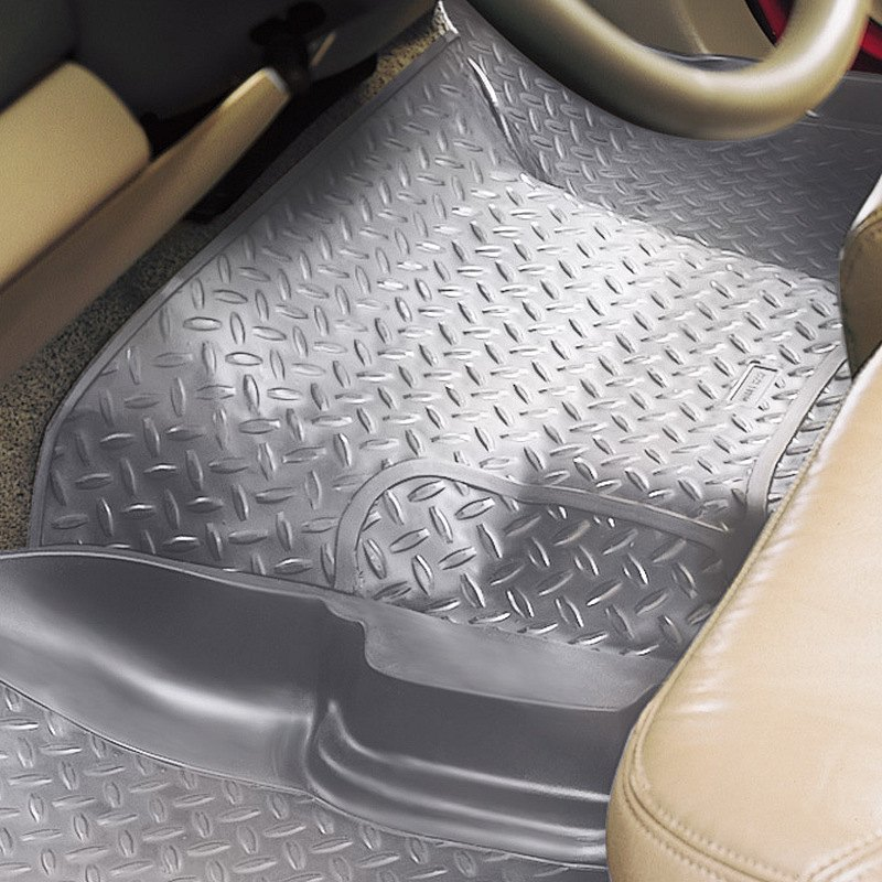 husky liners center hump area gray floor liner