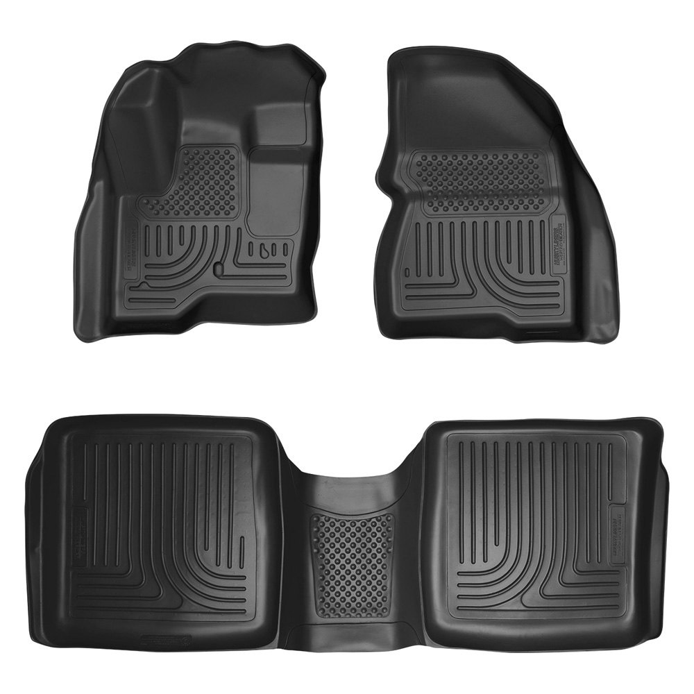 sethusky liners 1st u0026 2nd row black floor liner