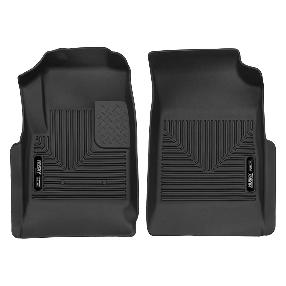 Husky 174 53121 X Act Contour 1st Row Black Floor Liners