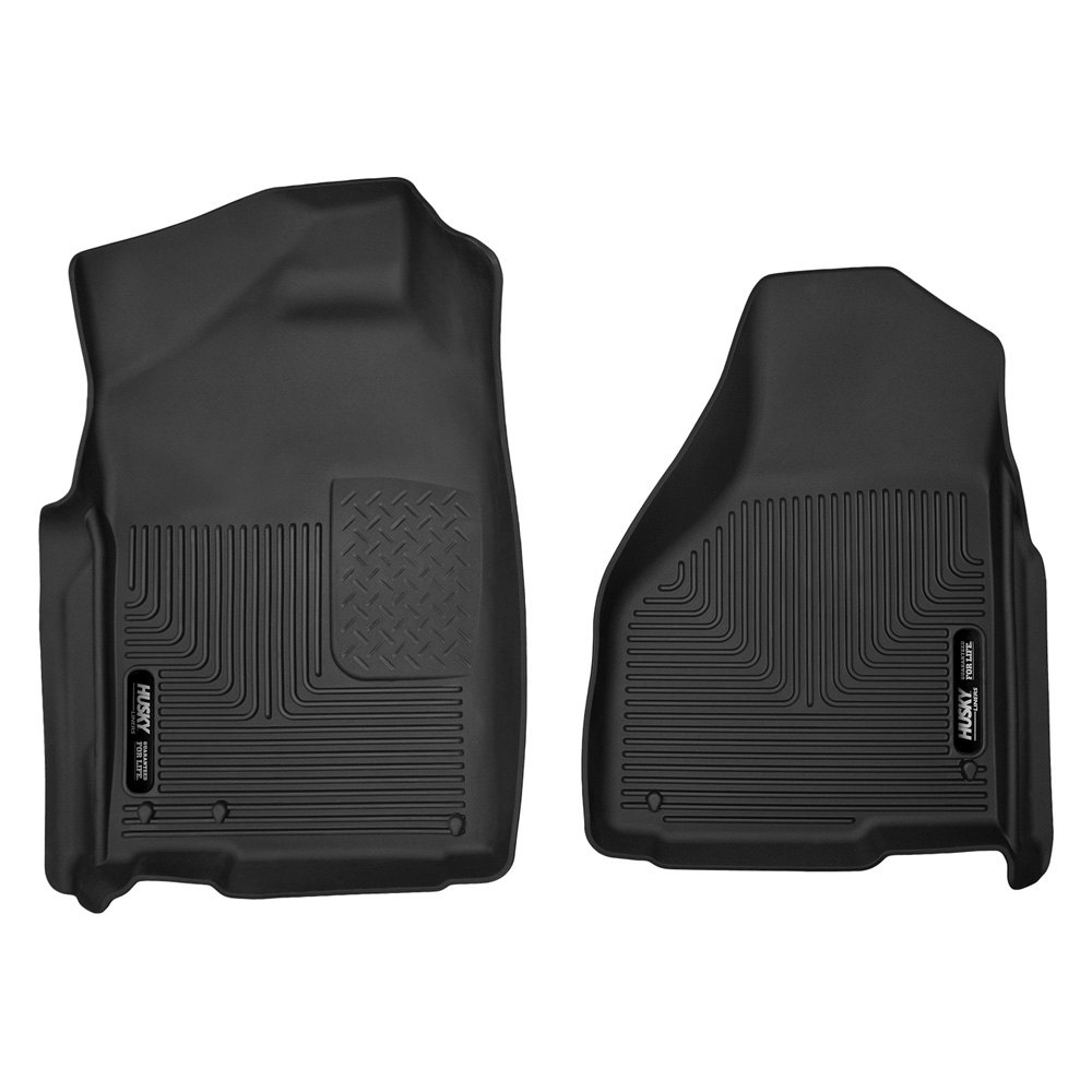 Husky 174 53521 X Act Contour 1st Row Black Floor Liners