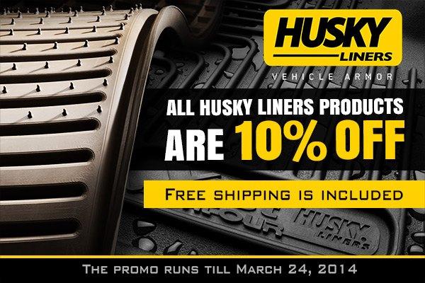 Husky liners coupon code