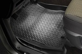 Husky Liners® - Classic Style™ 1st Row Black Floor Liners